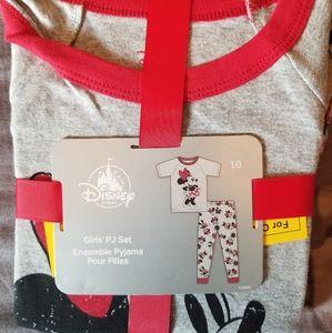 NWT Disney store size 10 girls pajamas
